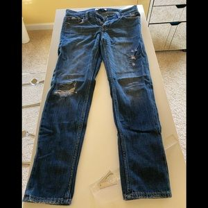 Abercrombie & Fitch Distressed Jeans Size 00/24